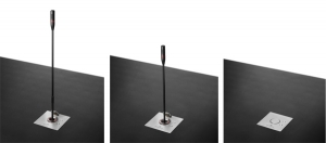 Arthur Holm is proud to present DynamicTalk, a universal lift system for gooseneck microphones