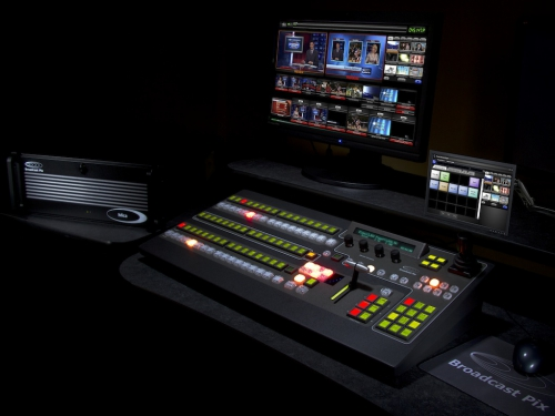 Broadcast Pix Sparks Interest in Streaming with Flint Integrated Production System at TAB 2013