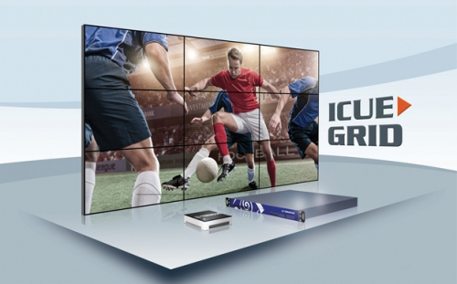 Teracue presenta  ICUE-GRID un video wall  multi room basato interamente su IP