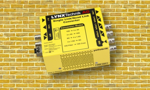 LYNX Technik Announces Bi-Directional 12G/3G Single-Link/Quad-Link Converter